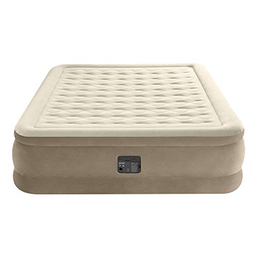 Intex 64428NP Colchón hinchable 2 plazas Ultra Plush con Fiber-Tech