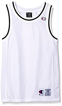Champion Men s City Mesh Tank Jersey Top White Small