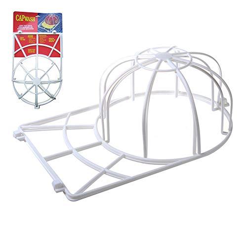 ISKYBOB Jaula de Lavado para Gorras de Béisbol Soporte de Fijación de Forma de Sombrero Herramienta de lavandería