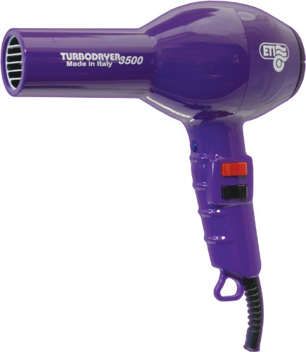 ETI Turbodryer 3500 Hair Dryer Purple