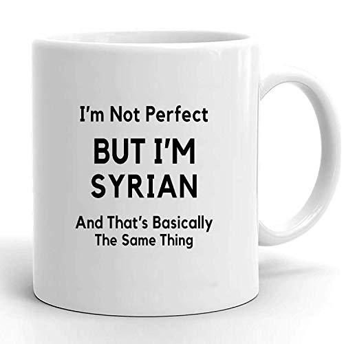Syrisches Geschenk Geschenk für Syrien Syrien Geschenke Syrischer Stolz Syrische Flagge Ich liebe Syrien Syrische Kaffeetasse Syrisches Geschenk