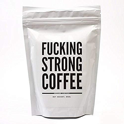 Monsterzeug Fucking Strong Coffee - 250 Gramm, Extra starker Kaffee, Kaffeepulver, Geröstete Kaffeemischung, Wachmacher für Morgenmuffel