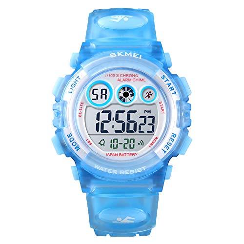 Relógio Digital, Skmei, Meninos, Azul
