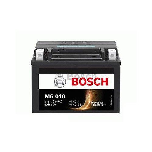Bosch - Batería de moto FTX9-BS = YTX9-BS, para Suzuki AN400Burgman (AU) de 24kW