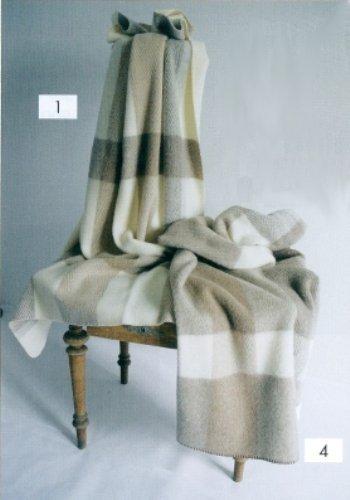 STEINBECK Decke Igor aus 100% Schurwolle, 150 x 200 cm Gewicht ca. 1300 g Farbe 4