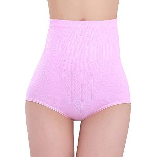 Adelina Dames hoge taille slips buikweg shaper push up ondergoed modieuze taille training figuur corrigerende broek stretch comfortabel zacht ademend onderbroek