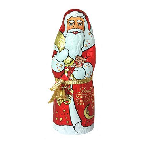 Lindt Weihnachtsmänner Vollmilchschokolade, 3er pack (3 x 125g)