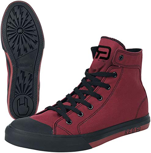 RED by EMP Walk The Line Sneaker high rot EU40