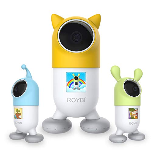 ROYBI Robot | The AI Smart Educational Robot for Preschool Kids Virtual Learning | Language & STEM Learning Toy with 500+ Interactive Lessons | Mom