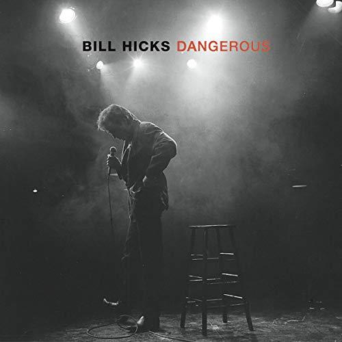 Bill Hicks: Dangerous audiobook cover art