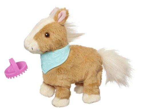FurReal Friends–a2535e240–Spiel elektronische–vorn Mein Pony–Snuggimals Walkin Brown Pony