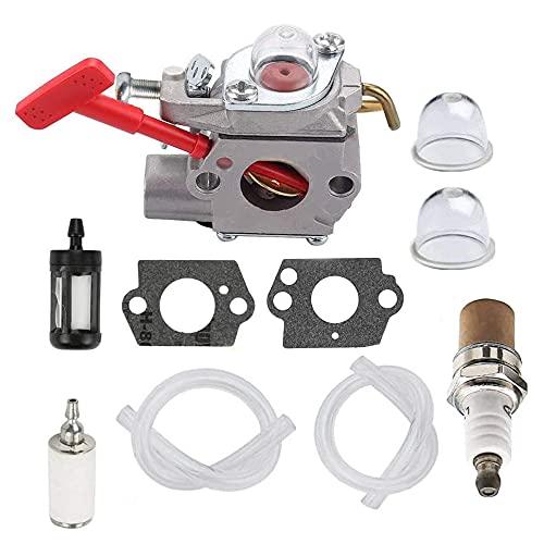 Hippotech Carburateur pour Walbro WT-458 WT-220 WT-318 WT-318X pour Homelite 07256B pour coupe-bordures Ultra 25CC A04445A