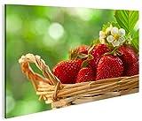 islandburner Bild Bilder auf Leinwand Erdbeeren Küchenbild