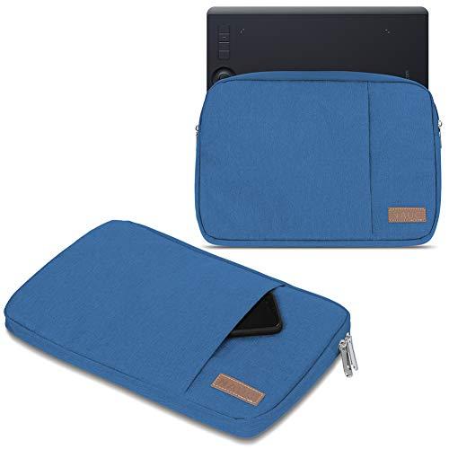 UC-Express Funda para tableta gráfica compatible con Wacom Intuos Pro S PTH-460 / M PTH-660, color negro, gris y azul