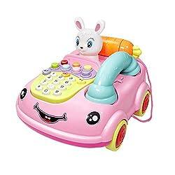 Kindertelefon Spielzeug - Simulation Telefon Spielzeug Kinder Mit Licht Und Musik, Pädagogisches Spielzeug Für Kinder Rollenspiel