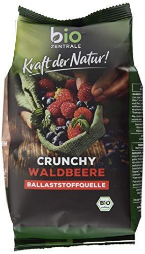 biozentrale Crunchy Müsli Waldbeere 6er Pack (6 x 375g)