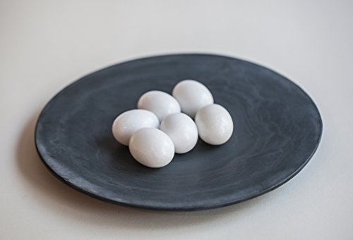 Marmorei, Osterei, Ei aus Marmor, auch für Schaufensterdekoration 10er Set