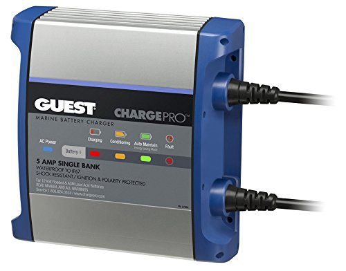 Guest On-Board Battery Charger 5A / 12V; Bank; 120V Input, 2708A