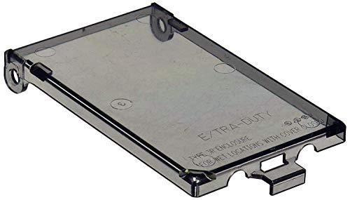 iMBAPrice Ersatzabdeckung für Arlington Electrical Box Family 1-Gang (Vertical) - Clear 1-Pack