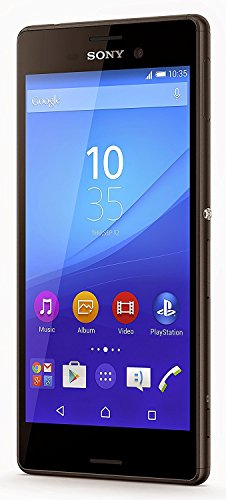 Sony Xperia M4 Aqua Smartphone, E2306, (5 Zoll (12,7 cm) Touch-Display, 16 GB Speicher, 2 Rom Android 5.0), (Importiert), Schwarz