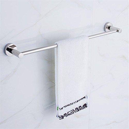 Toallero 304 de acero inoxidable barra para colgar barra de baño accesorios de hardware colgante 60cm toallero