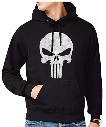 The Fan Tee Sudadera de Hombre Punisher Castigador Comic 003 L