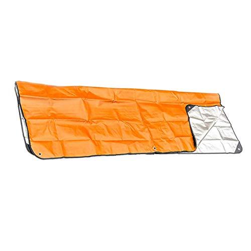 Ballylelly Outdoor Erste Hilfe Rettungsdecke Rettungsschlafsack Isolierung reflektierende orange aluminisierte Folie