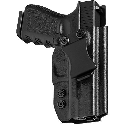 Concealment Express IWB KYDEX Holster fits Walther CCP (Incl. M2) | Right | Black