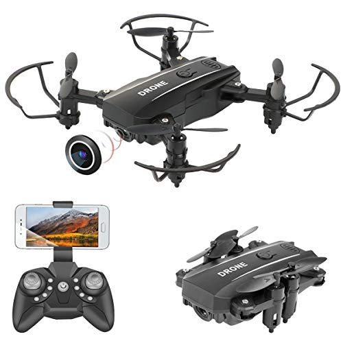 Mini Drone plegable con cámara