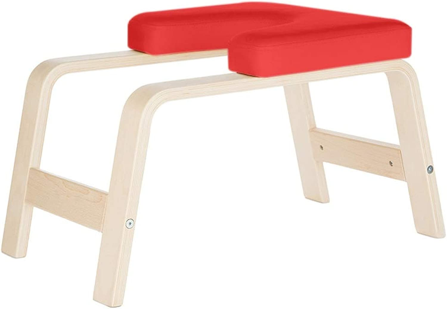 Wooden Yoga Chair Headstand Bench, Fitness White Birch Yoga Chair Inversion Bench, Balanced Body Headstand Bench Ideal Chair, Original Headstander