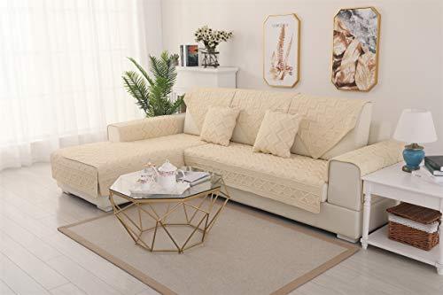 Liveinu - Tappetino in pile con stampa in rilievo, caldo, con antiscivolo, multiuso, per divano, poltrona, tappeto da gioco giapponese, per pavimento, divano e letto, 110 x 160 cm, giallo