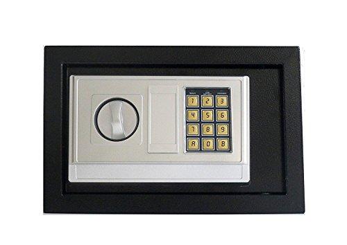 F01 cassaforte elettronica, da parete/mobili, bloccaggio con bulloni doppi, 310 mm