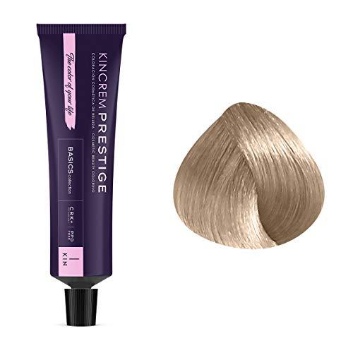 Coloration permanente enrichie à la kératine 10.1 - Blond Platine Cendré Kin Cosmetics