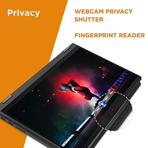 Product Image 3: , Lenovo Flex 5 14″ 2-in-1 Laptop, 14.0″ FHD (1920 x 1080) Touch Display, AMD Ryzen 5 4500U Processor, 16GB DDR4, 256GB SSD, AMD Radeon Graphics, Digital Pen Included, Win 10, 81X20005US, Graphite Grey