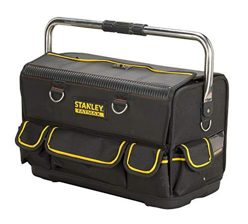 Stanley FatMax Installateur-Werkzeugtasche (52x28x31cm, doppelseitige Öffnungsmöglichkeit,...