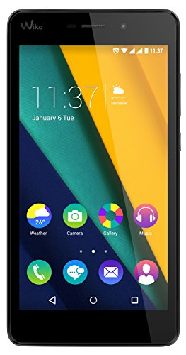 Wiko Pulp Fab 4G 4G 16GB Rot - Smartphones (IPS, 1280 x 720 Pixel, 16,78 Millionen Farben, 16:9, Multi-Touch, Qualcomm Snapdragon)
