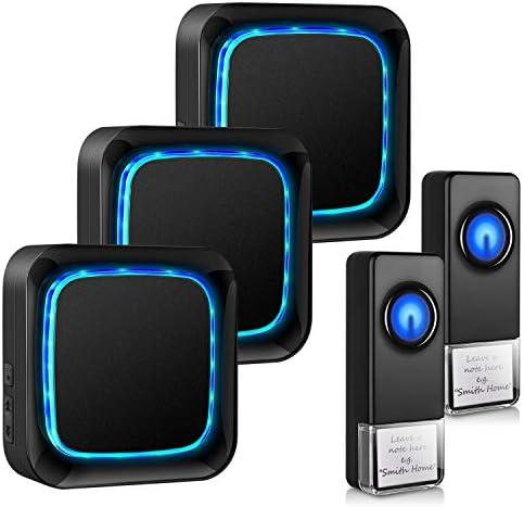 Wireless Doorbell Waterproof Door Bells Chimes Wireless Kit Door Bell Chimes Wireless Over 1000 product image