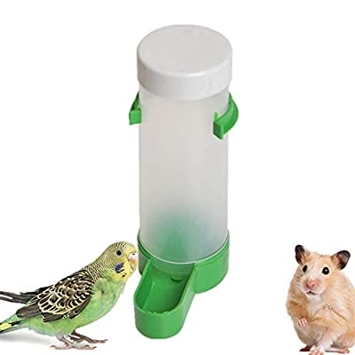 KAIKUN Bird Feeders For Small Birds Bird Water Dispenser Bird Feeding Hanging Bird Feeders Small Bird Feeder Budgie Water Dispenser Guinea Pig Food Bowl food feeder by KAIKUN