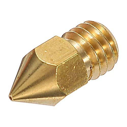 YJIA Nozzle 1.75mm 0.4mm Copper Zortrax M200 for 3D Printer 3D printer accessories