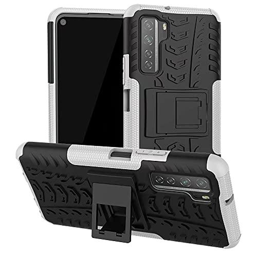 FTRONGRT Funda para Samsung Galaxy S22 Pro, Armadura Delgada, Doble Capa, Protección Pesada, Rugged Híbrido Resistente Duro Caso, para Samsung Galaxy S22 Pro -Blanco