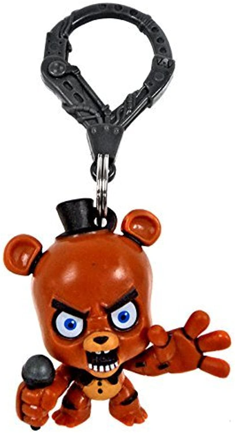 FNAF Officially Licensed Five Nights At Freddy's 3 Figure Hangers Freddy Fazbear by Five Nights at Freddy's