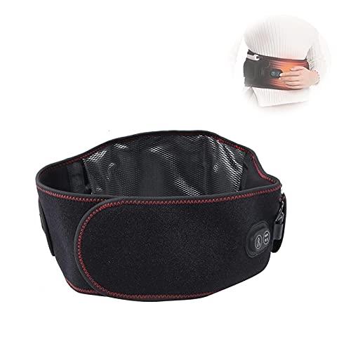 Manta eléctrica de calefacción Manta con 3 engranajes Masaje de temperatura Pendientes traseros Cintura con calefacción Cinturón inferior PRUEBA CUERTE Uterus Cojín para calambres de estómago abdomina