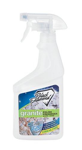 Black Diamond Granite Polish-Preserver Trigger Spray Bottle 16 Oz