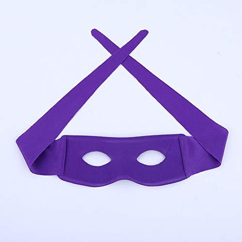 Neue Persönlichkeit einfache europäische und amerikanische Maskerade Männer und Frauen PVC-Verbundstoff Farbmaske lila Code