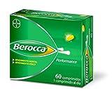 Berocca Performance Complejo de Vitaminas y Minerales Sin Cafeína, Contribuye al Rendimiento Mental y Físico, 60 Comprimidos