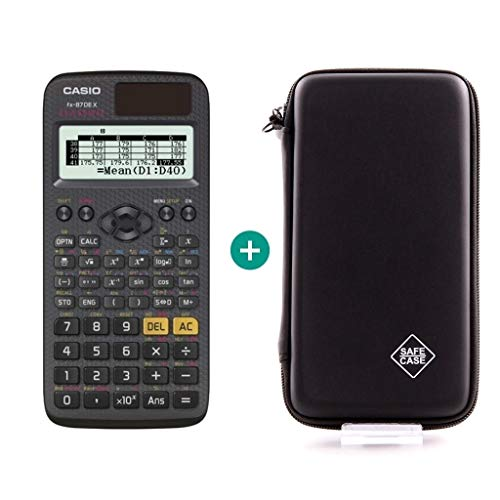 Casio FX-87DE X + Schutztasche