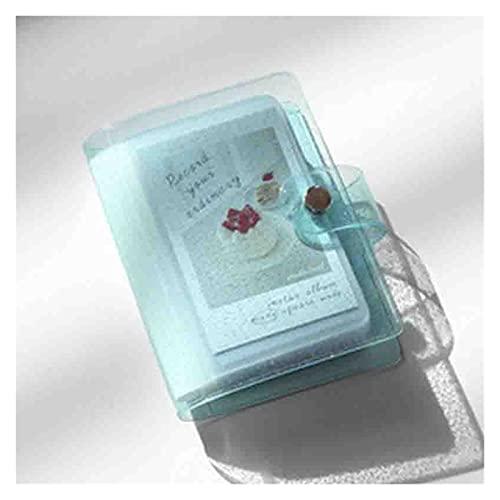 WAYYQX Color Jalea para Mini Tarjeta Pegatina Pegatina Album Mini Fotos Instax Album Transparent Glitter Holder, Álbum Fotos (Color : 20pcs Inner Pages)