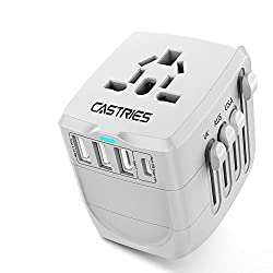 Castries Universal Travel Adapter All-in-one Travel Charger