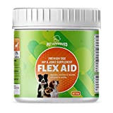 Dog Joint Supplements Glucosamine for Dogs - Provide Natural Dog Joint Pain Relief for Active Dogs Promote Dog Health by Providing Regular Dog Joint Care with Dog Supplements Powder Formula 102 Grams