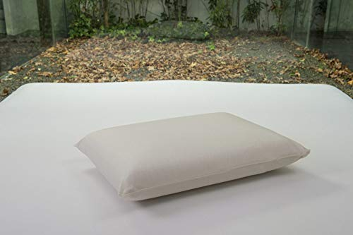 Bsensible - Funda de Almohada Protectora de Tencel, Impermeable y Transpirable Crudo 75 x 50